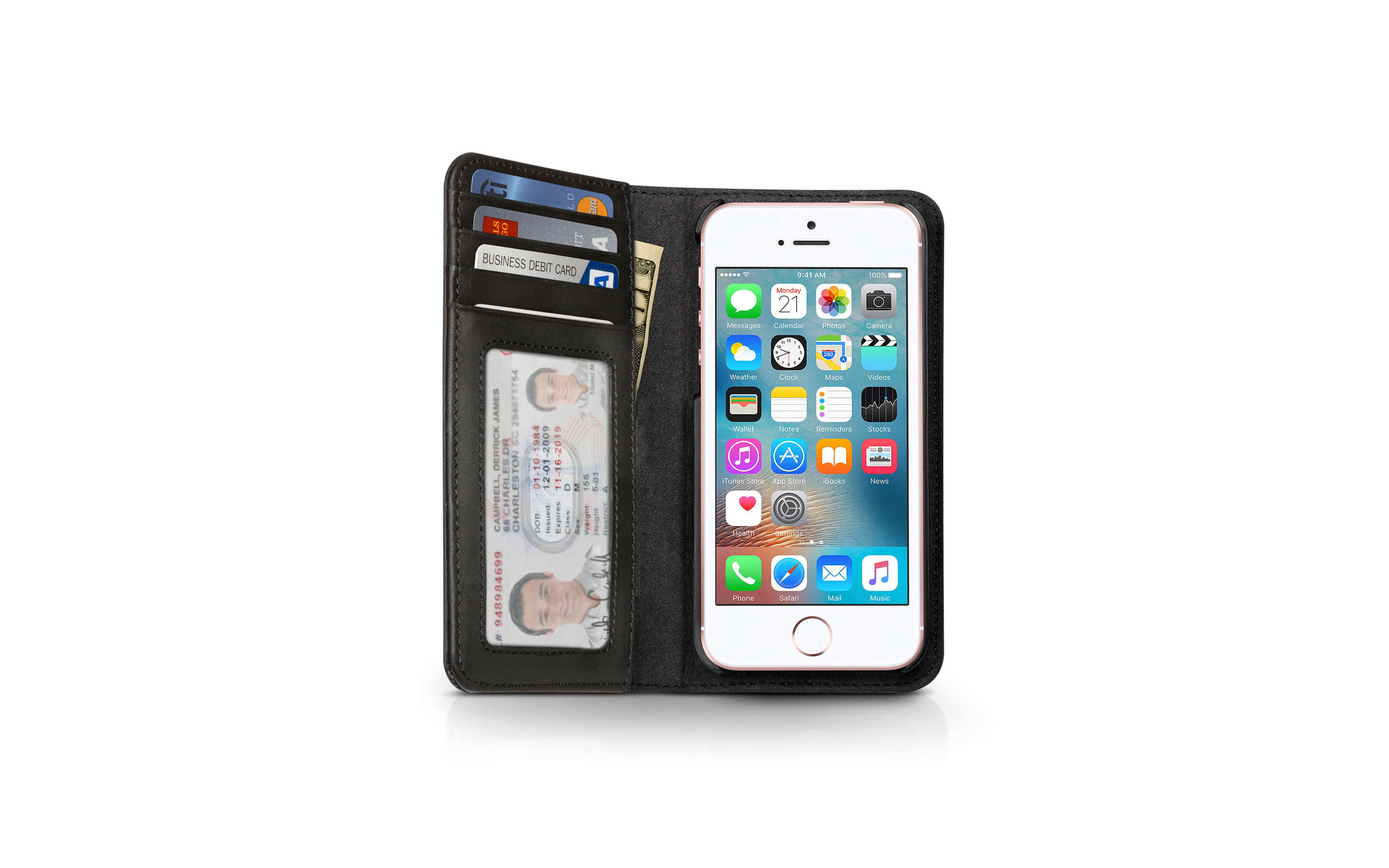 BookBook for iPhone 5 — Black