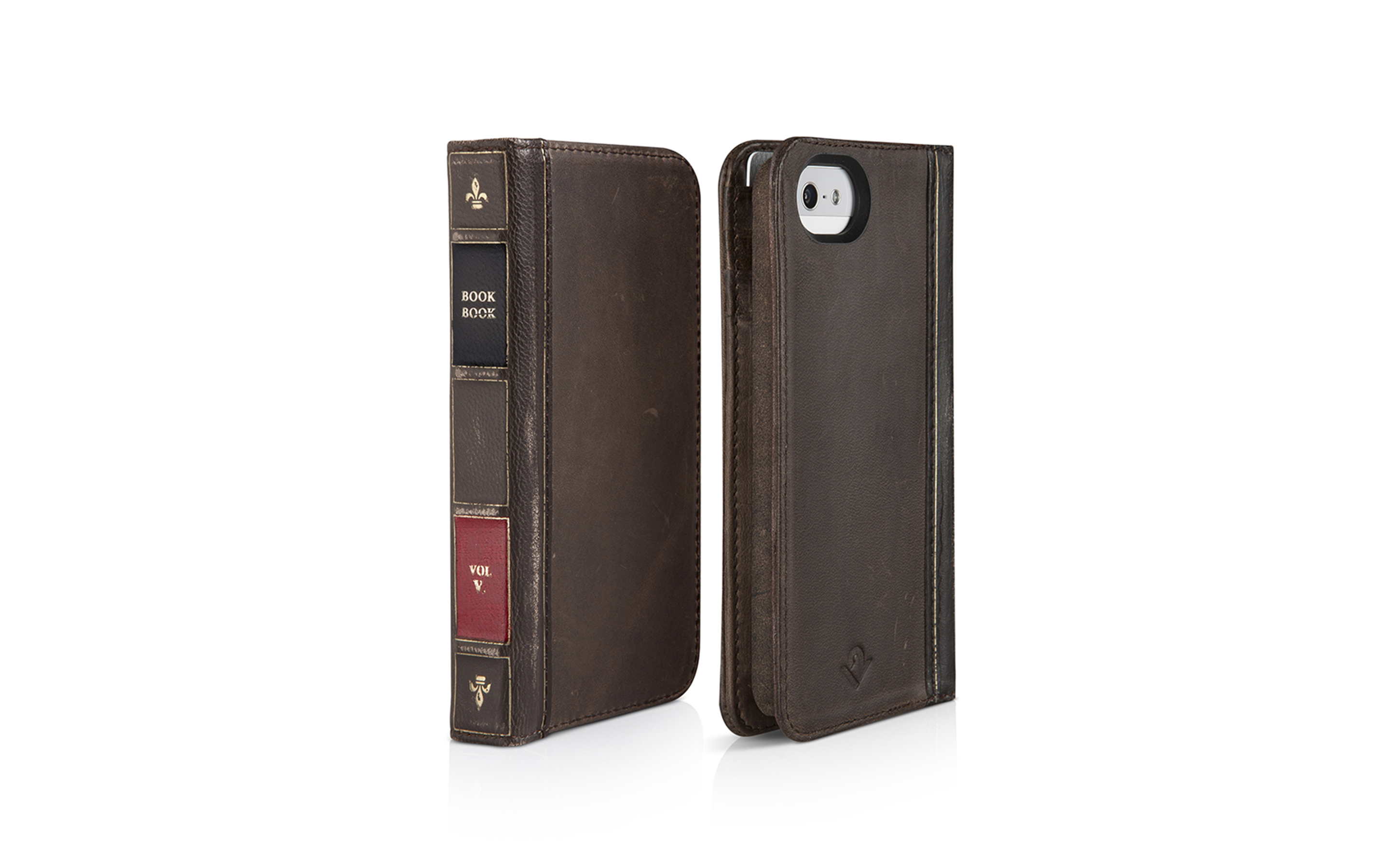 BookBook for iPhone 5 — Brown