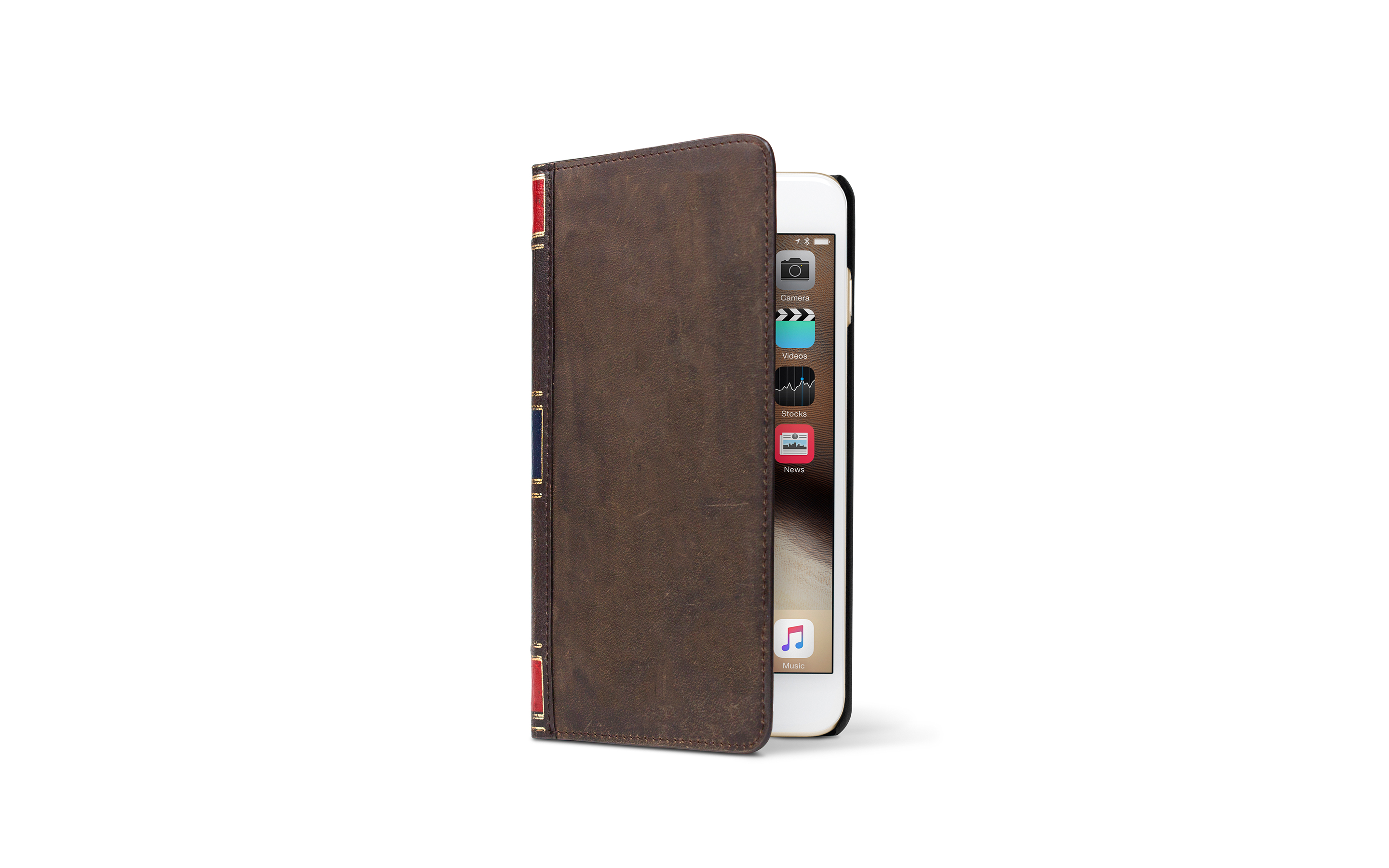 BookBook for iPhone 6 Plus — Brown