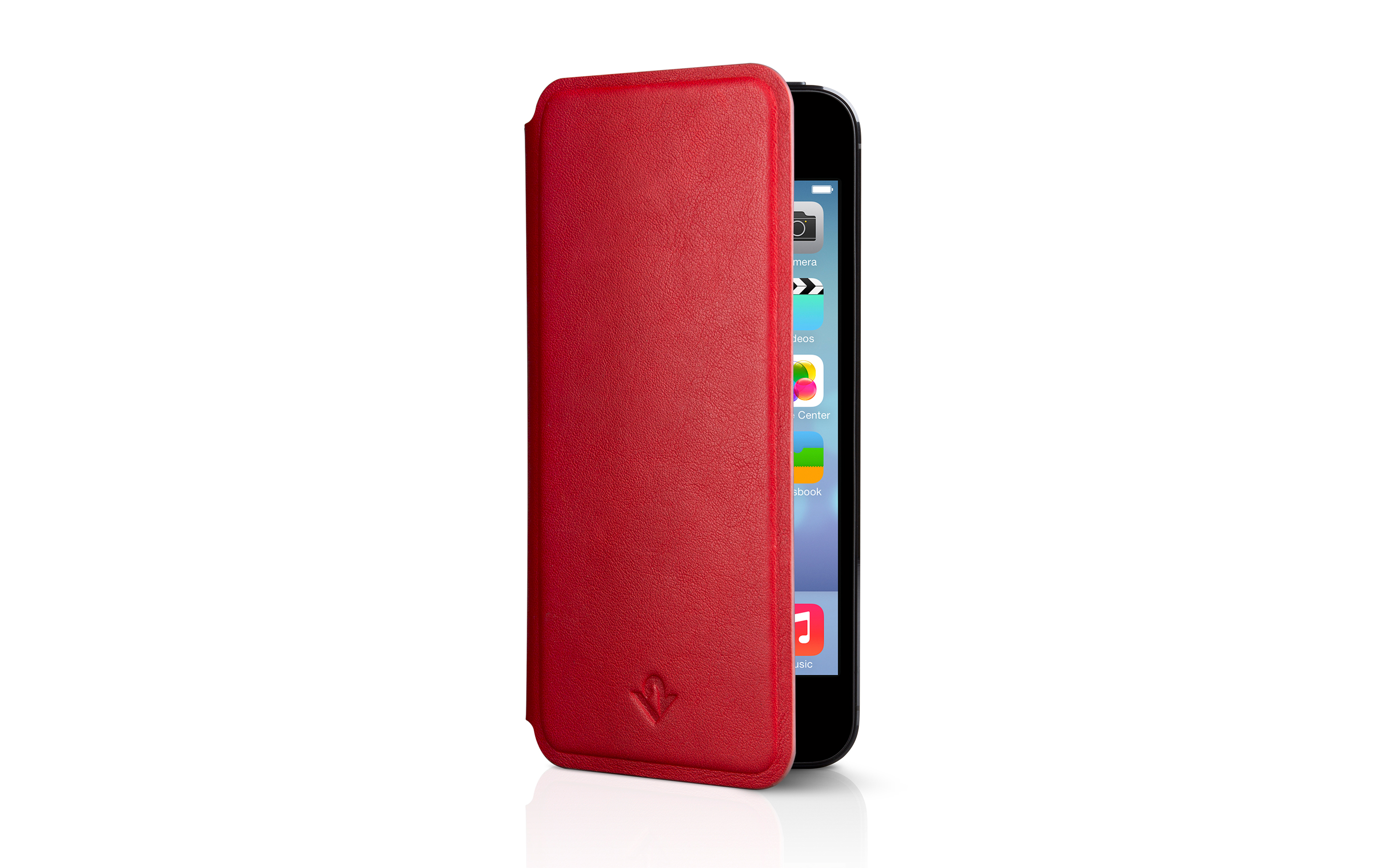 SurfacePad for iPhone — Red Pop — 5s/SE